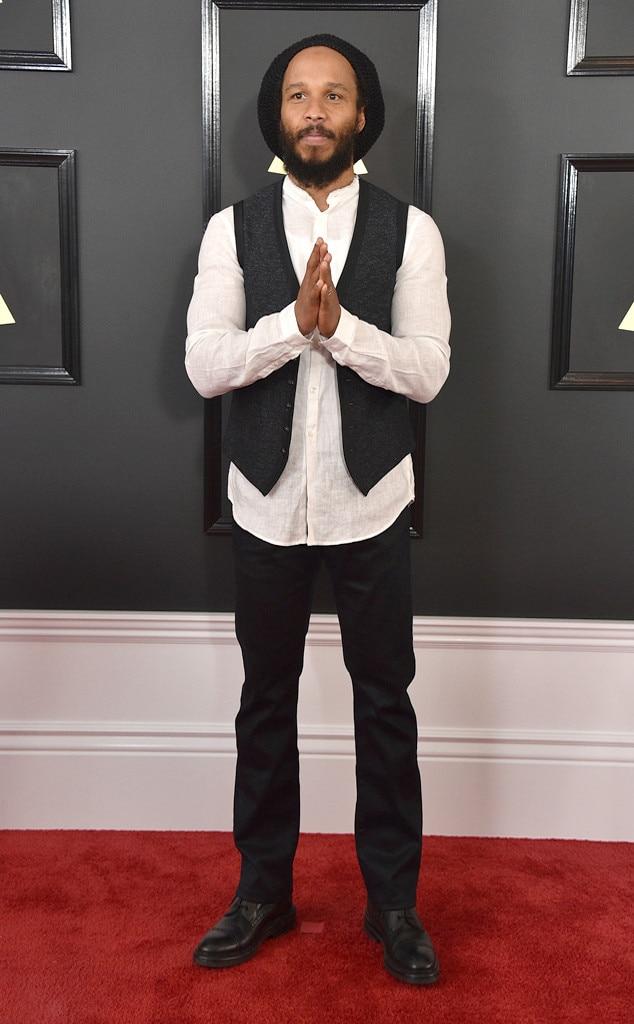 Ziggy Marley, 2017 Grammys, Arrivals