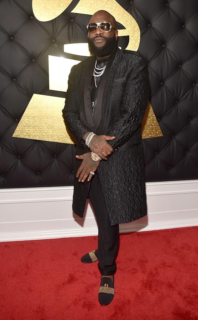Rick Ross, 2017 Grammys, Arrivals