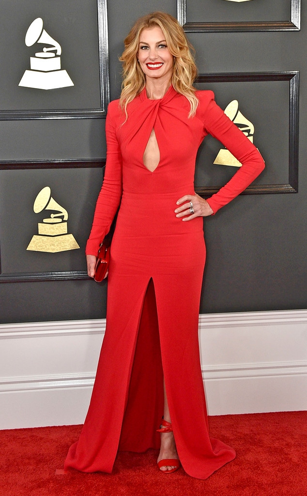 Faith Hill, 2017 Grammys, Arrivals