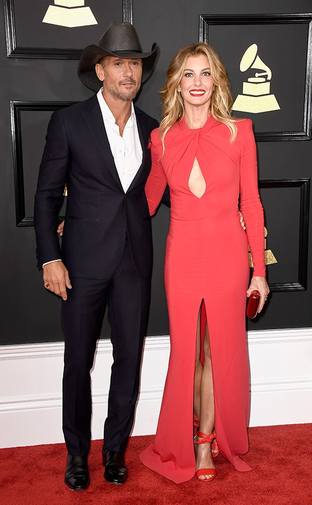 Tim McGraw, Faith Hill, 2017 Grammys, Couples
