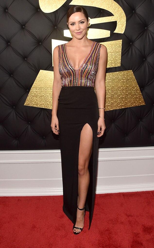 Katharine McPhee, 2017 Grammys, Arrivals
