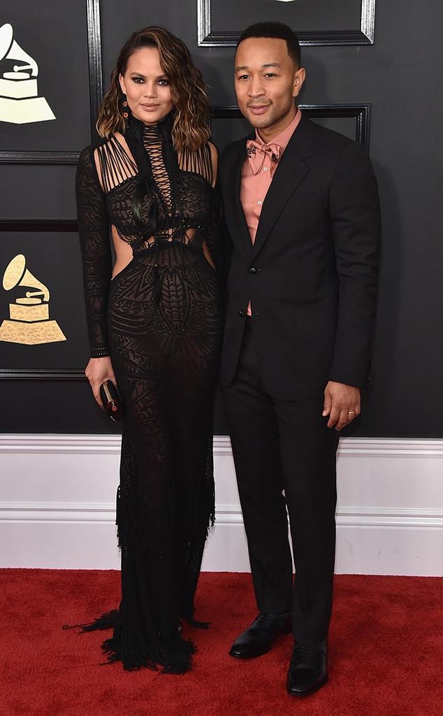 Chrissy Teigen, John Legend, 2017 Grammys, Couples