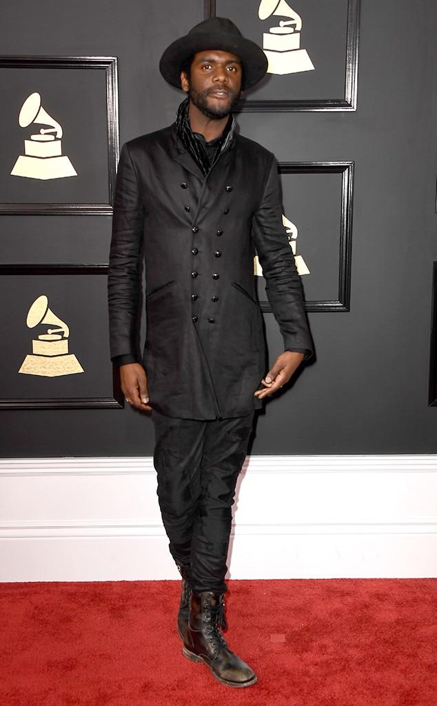 Gary Clark Jr., 2017 Grammys, Arrivals