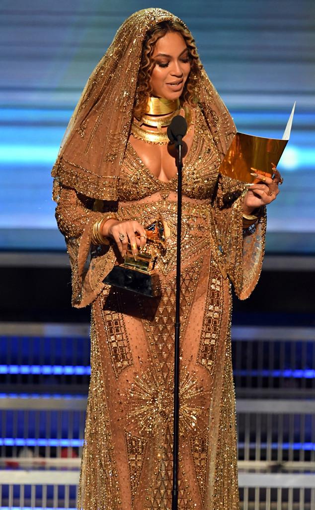 Beyonce, 2017 Grammys, Winners
