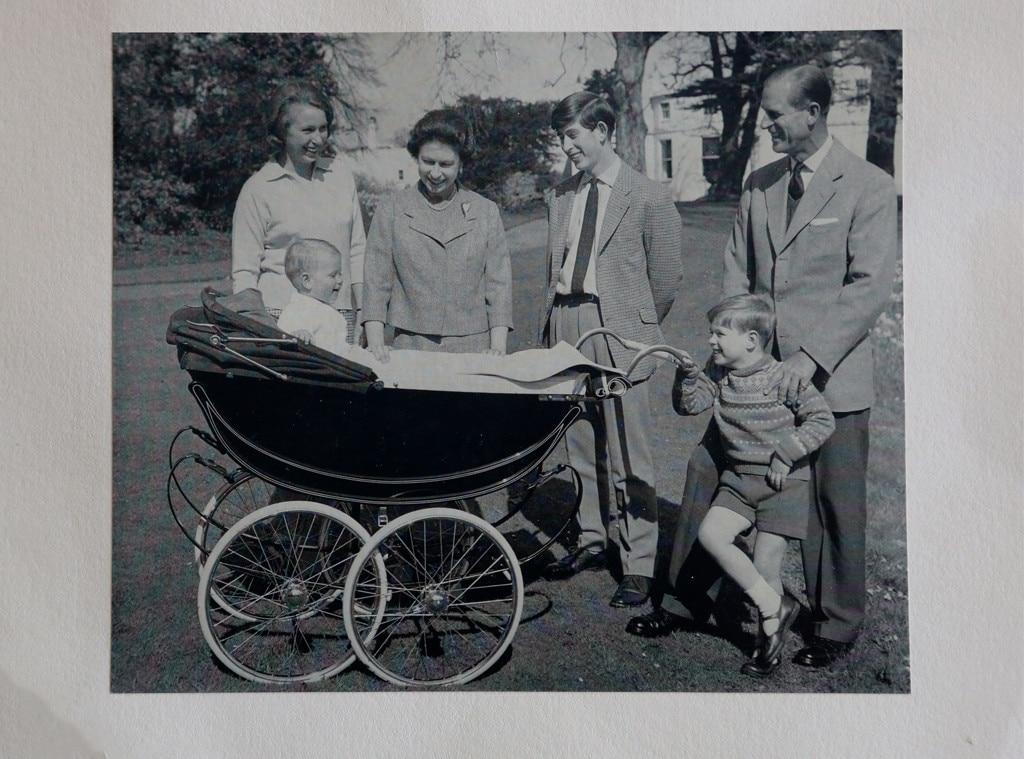 Queen Elizabeth II, Philip, Prince Edward, Christmas Card, 1965