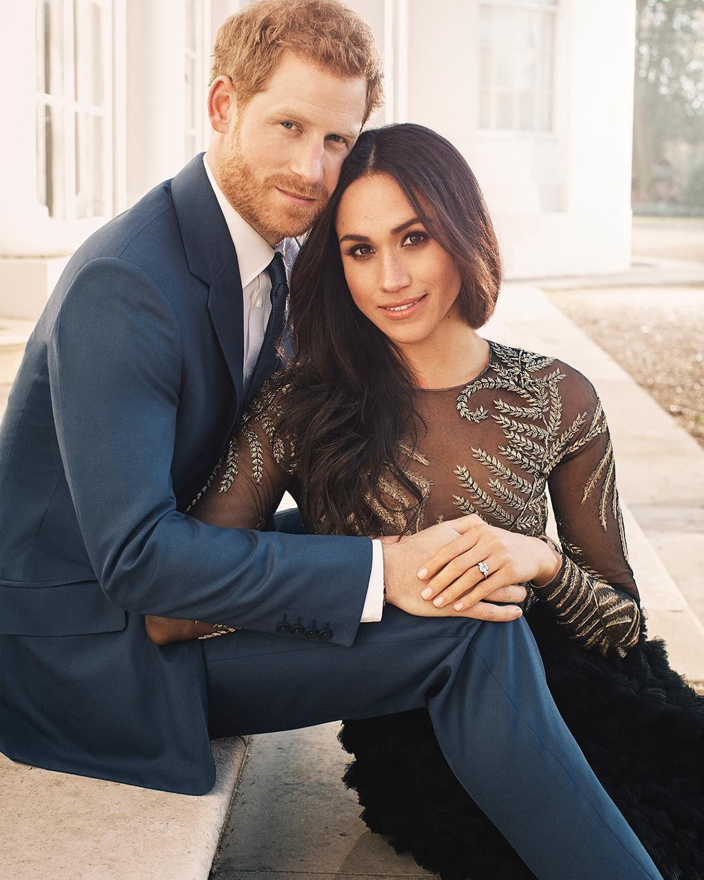 Prince Harry, Meghan Markle, Official Engagement Photos