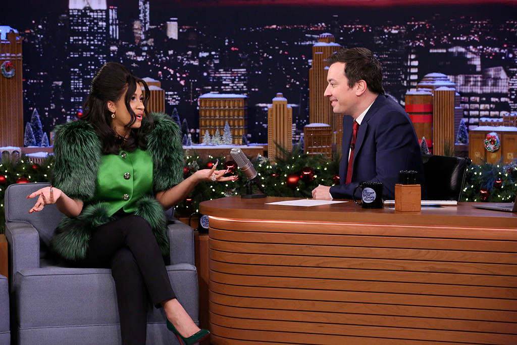 Cardi B, The Tonight Show Starring Jimmy Fallon