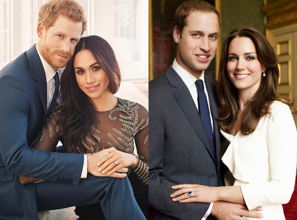 Prince Harry, Meghan Markle, Kate Middleton, Prince William