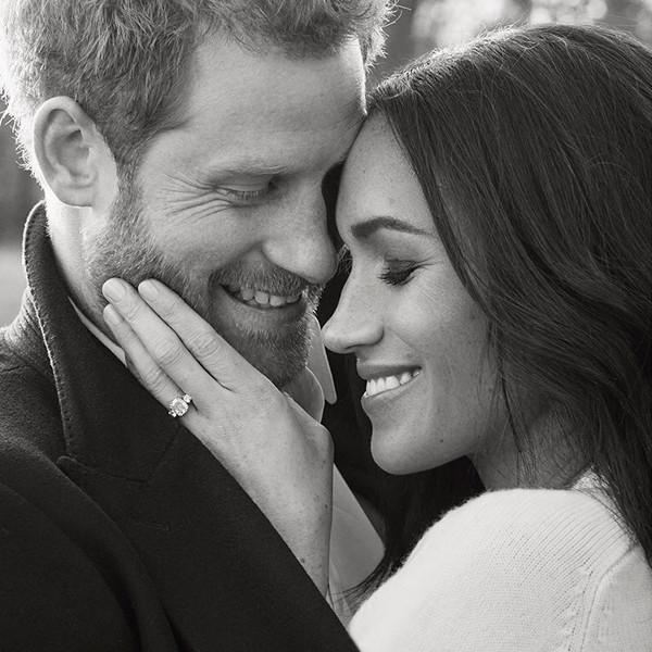 Prince Harry, Meghan Markle, Engagement Portrait