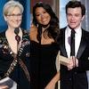 Meryl Streep, Gina Rodriguez, Chris Colfer, Golden Globe