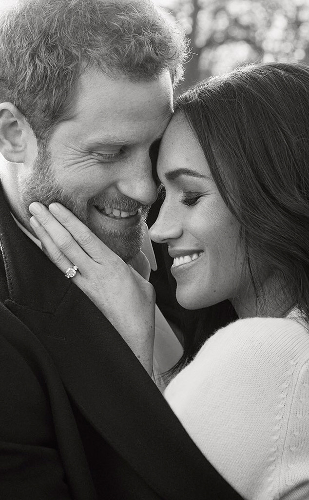 Prince Harry, Meghan Markle, Engagement Portrait