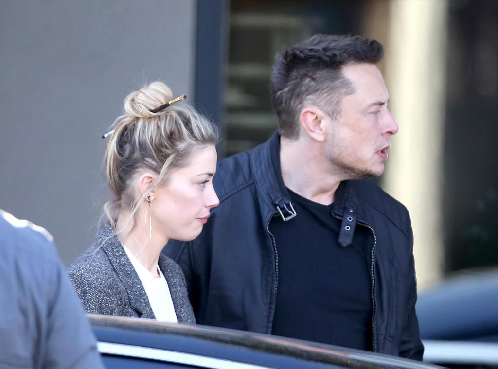 Elon Musk, Amber Heard