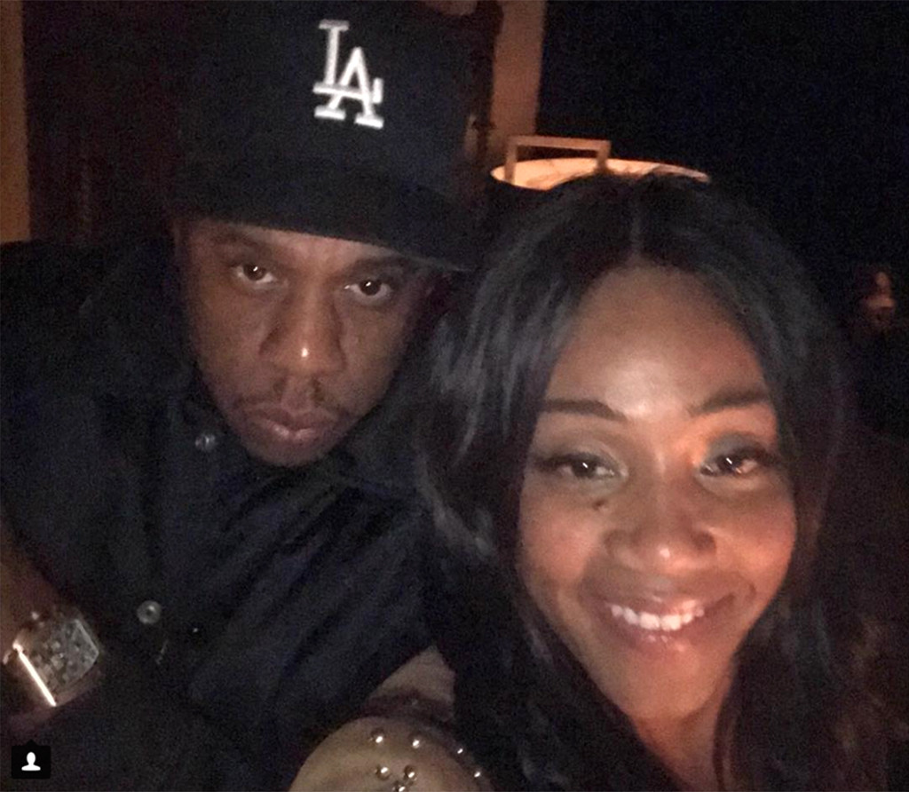 Tiffany Haddish, Jay-Z, Instagram