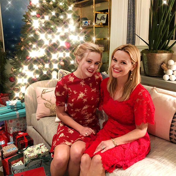 Christmas Cuties -  As the duo celebrated Christmas in 2017 they looked cheerful in red.