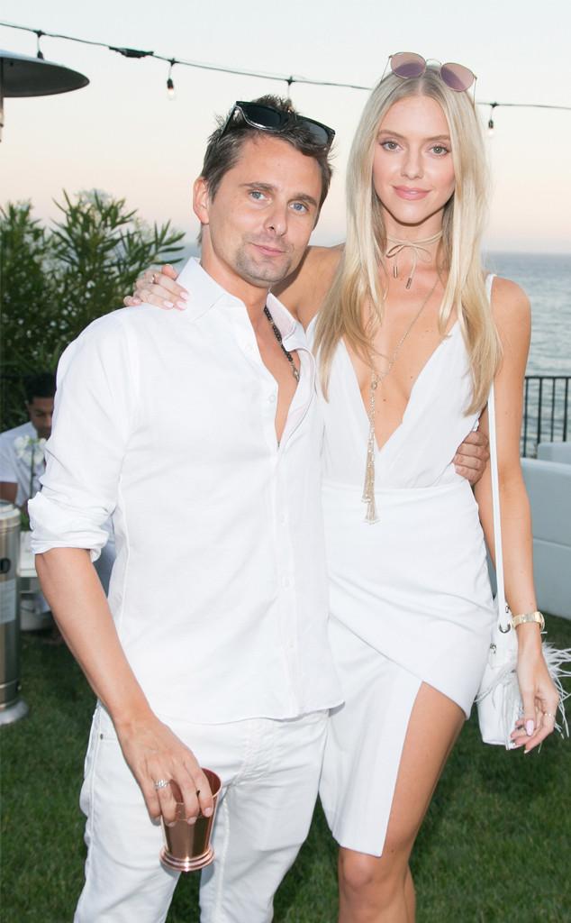 Matthew Bellamy Is Engaged To Model Elle Evans E News