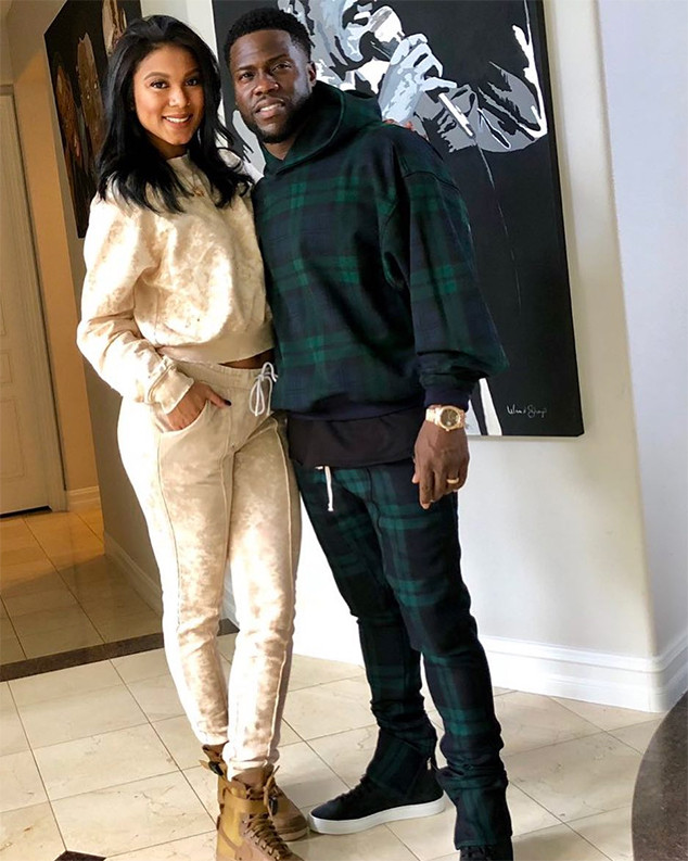 Kevin Hart, Wife, Eniko Hart, Christmas Eve 2017