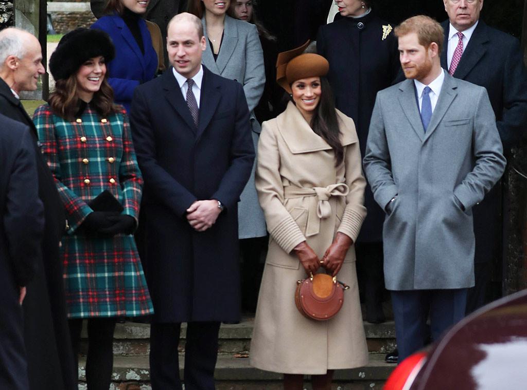 Kate Middleton, Prince William, Meghan Markle, Prince Harry, Christmas