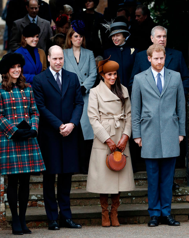 Kate Middleton, Prince William, Meghan Markle, Prince Harry