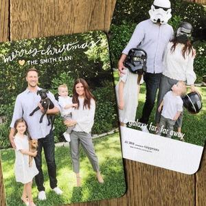 Tiffani Thiessen, Christmas Cards