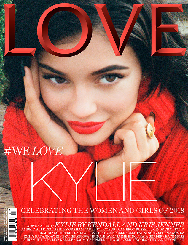Kylie Jenner Resurfaces on Love Magazine Cover | E! News