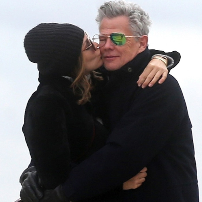 Katharine McPhee and David Foster Can't Keep Their Hands Off Each Other in  Paris | E! News