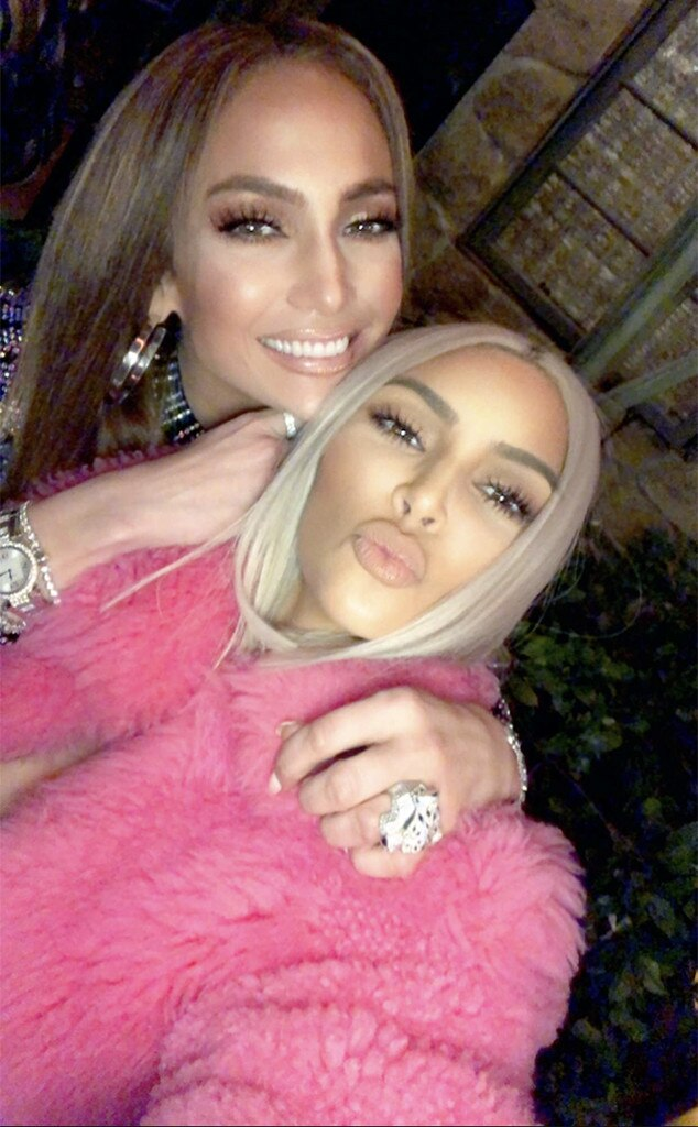 Kim Kardashian, Jennifer Lopez, Taco Wednesday Party