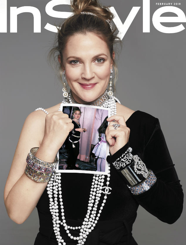 Drew Barrymore, InStyle, InStyle Cover