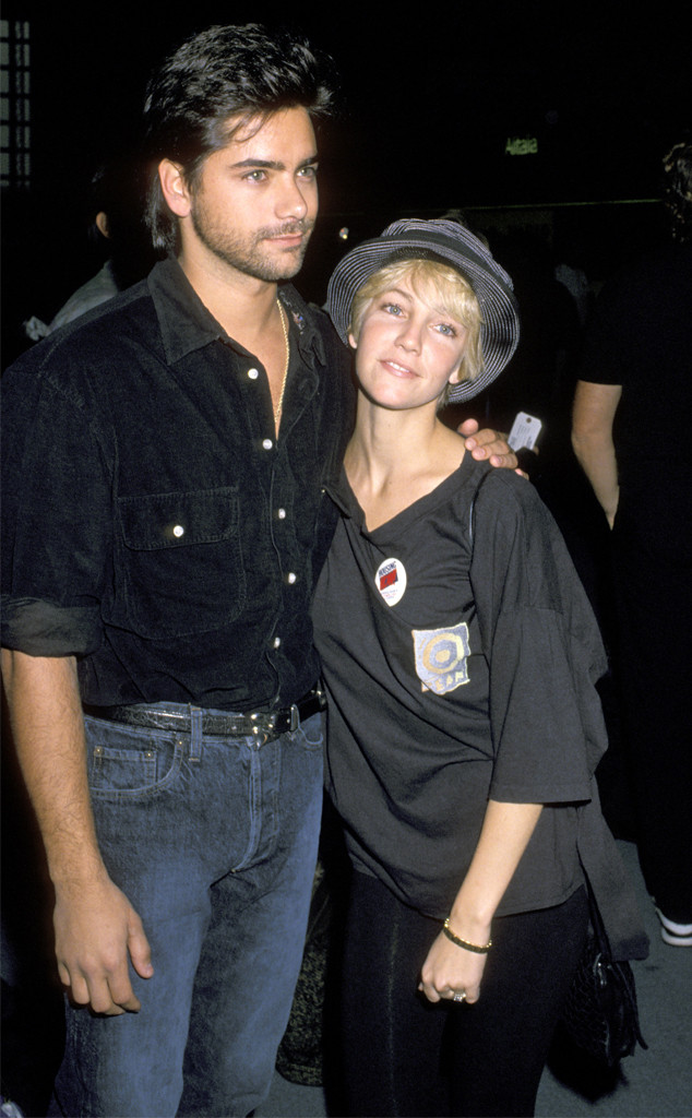 John Stamos, Heather Locklear