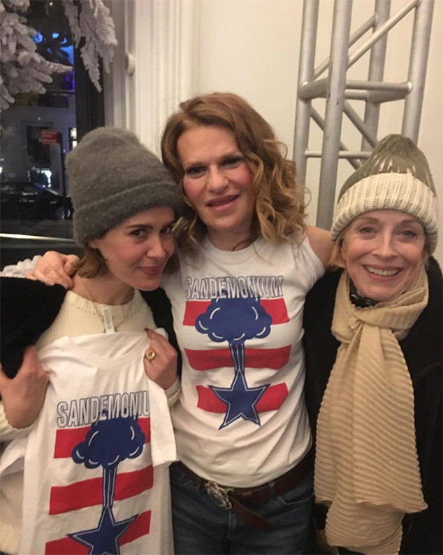 Sarah Paulson, Holland Taylor, Sandra Bernhard
