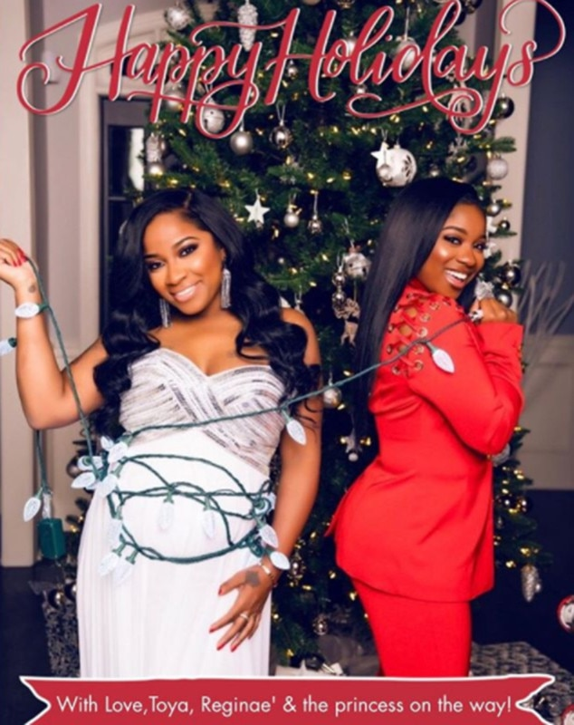 Toya Wright from Celebrity Christmas Cards | E! News
