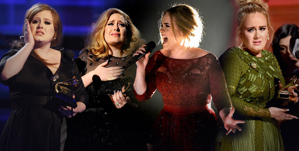 Adele, Grammy Awards, Emotions