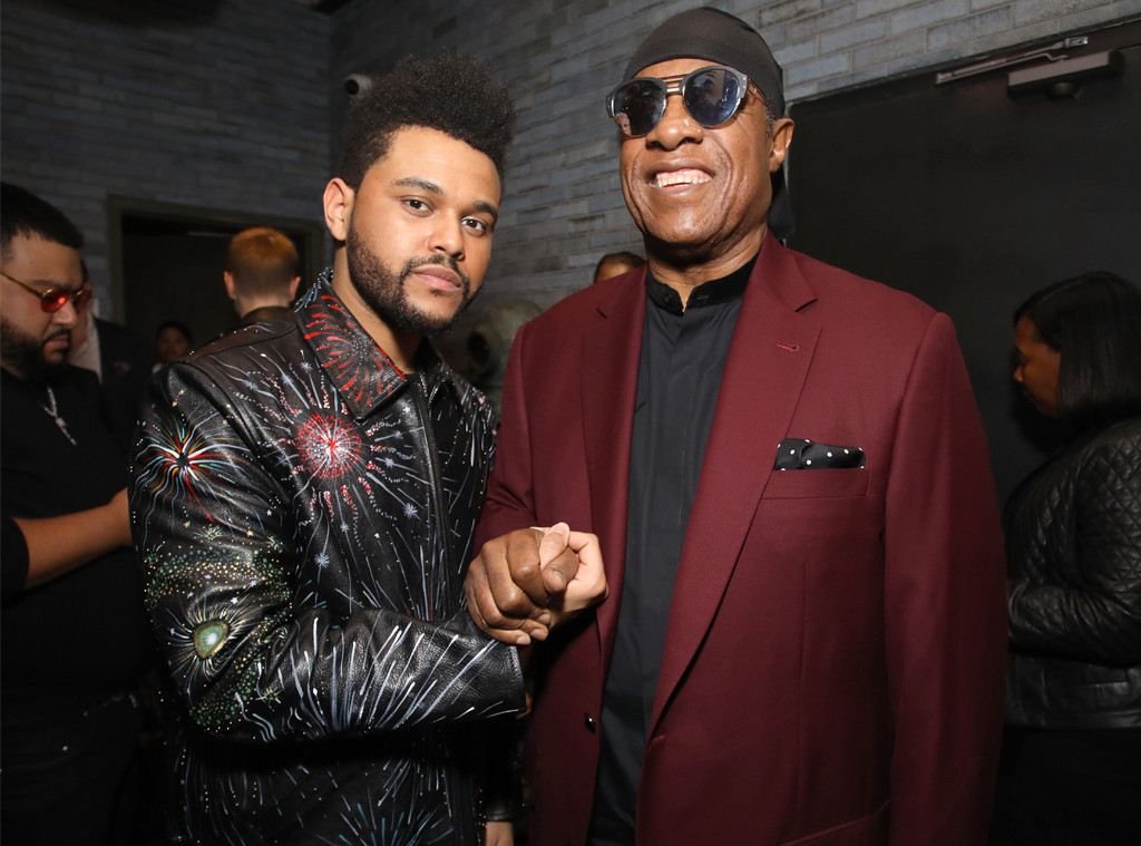 Weeknd, Stevie Wonder, 2017 Grammy After Party, Republic Records
