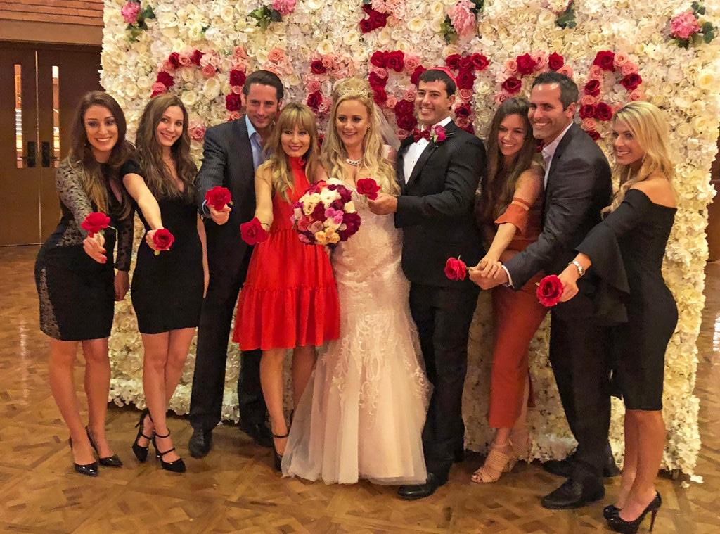 Erica Rose, Charles Sanders, wedding