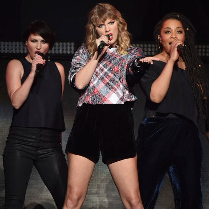 Taylor Swift Wears Plaid And Performs With Ed Sheeran Again At