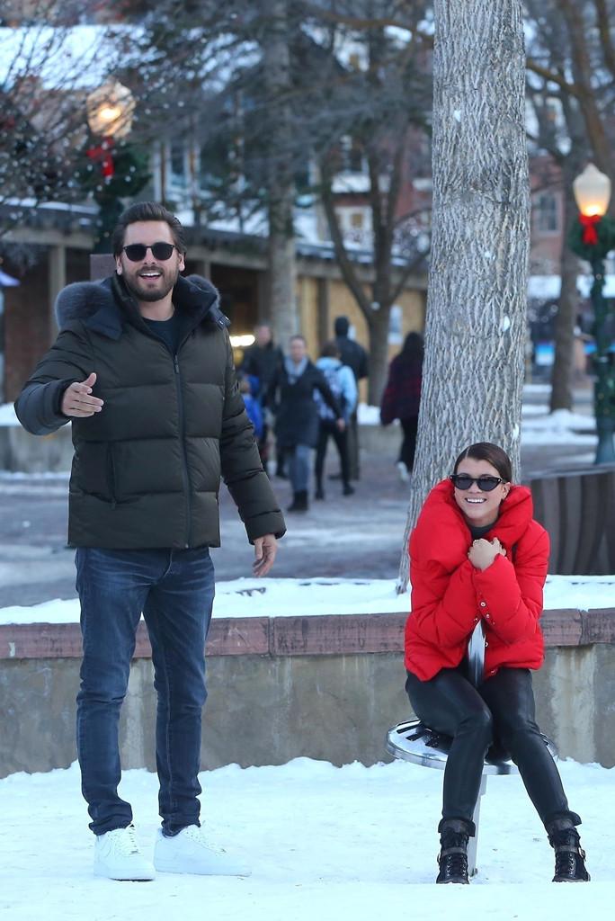Sofia Richie, Scott Disick