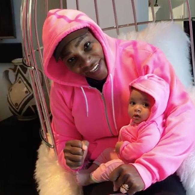 Serena Williams, Baby, Daughter, Alexis Olympia, Instagram