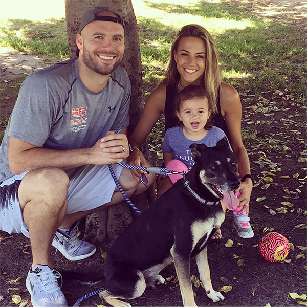 Jana Kramer, Mike Caussin, Daughter, Jolie, Dog