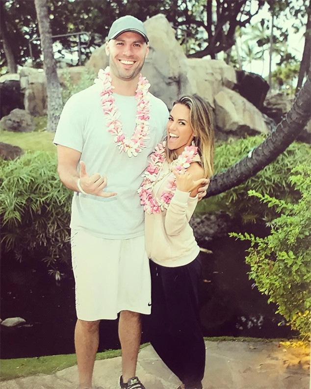 Jana Kramer, Mike Caussin, Hawaii, 2017