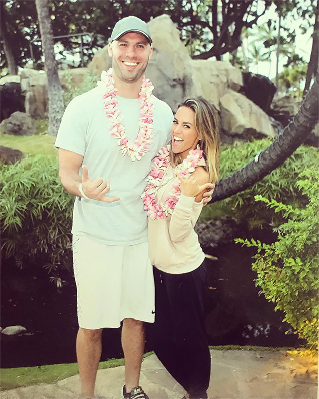 Jana Kramer, Mike Caussin, Hawaii, 2017