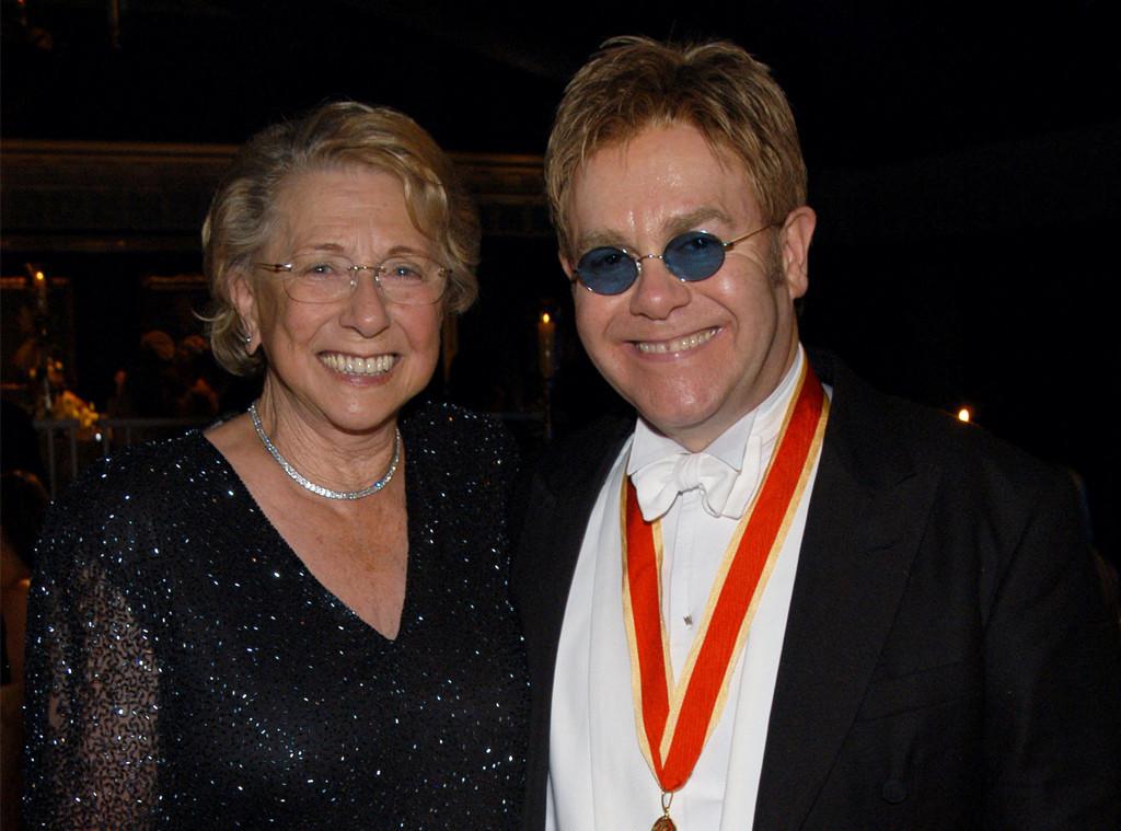 Elton John & Sheila Farebrother