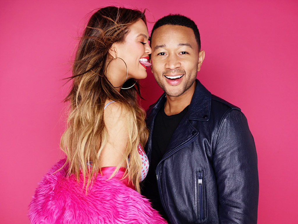 Chrissy Teigen, John Legend, LOVE Magazine