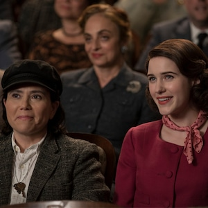 Rachel Brosnahan, Alex Borstein, The Marvelous Mrs. Maisel
