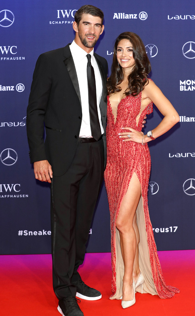 Michael Phelps and Wife Nicole Expecting Baby No  3 | E! News
