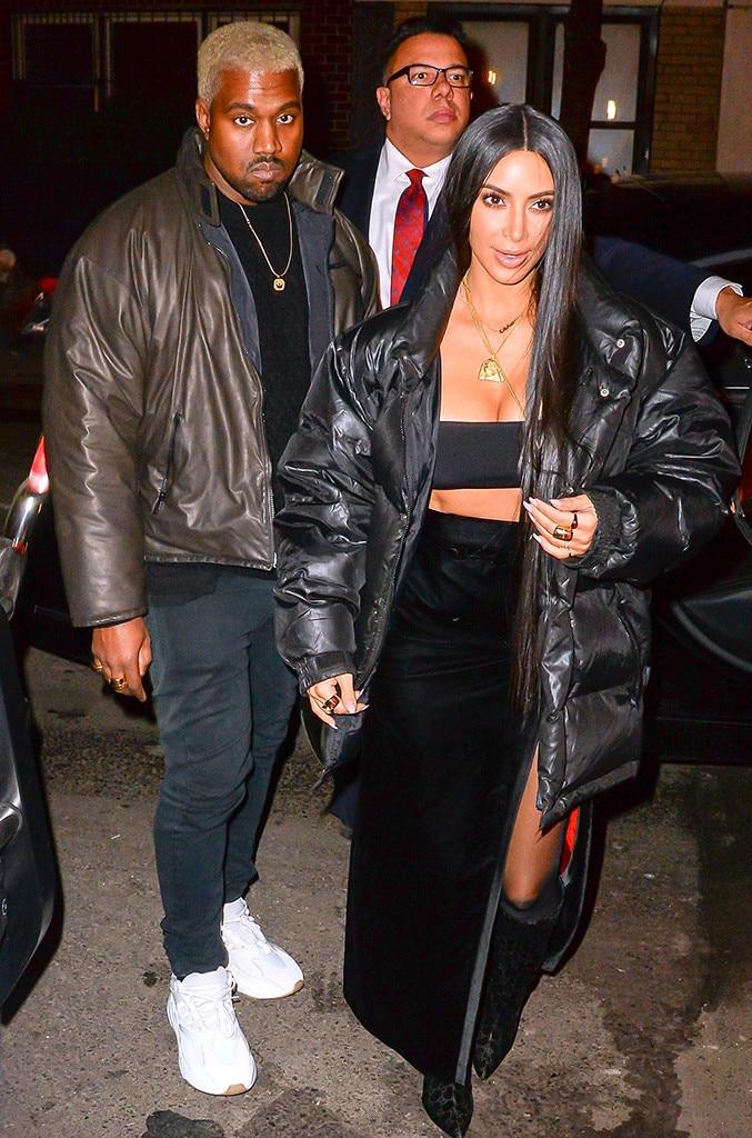 Kim and kanye dating e news