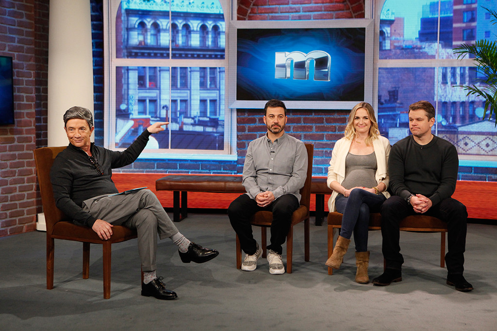Martin Short, Jimmy Kimmel, Molly McNearney, Matt Damon, Jimmy Kimmel Live