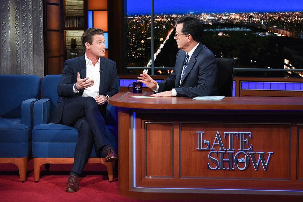 Billy Bush, The Late Show, Stephen Colbert