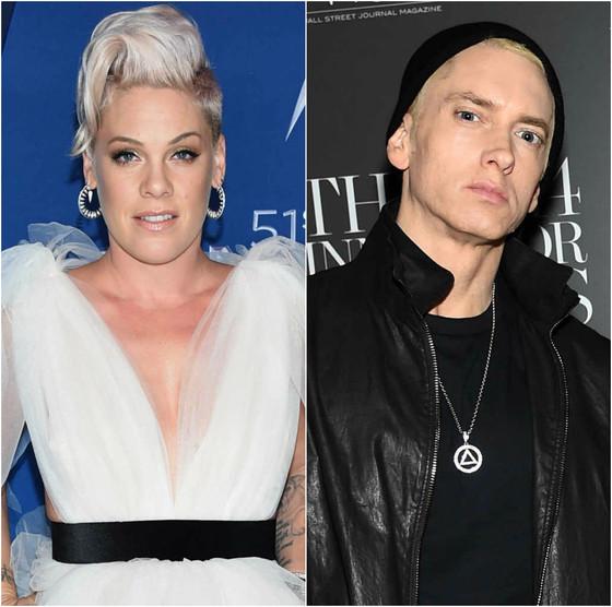 Pink, Eminem