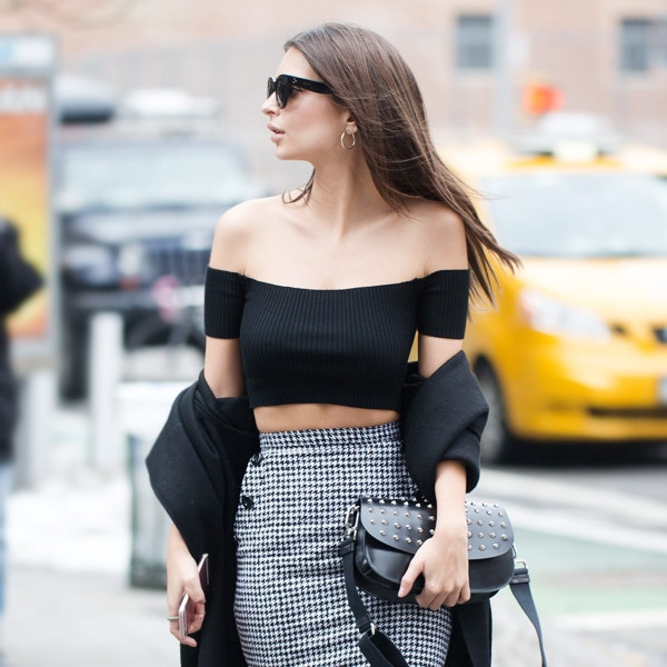 ESC: NYFW Fall 2017, Celeb Street Style, Emily Ratajkowski