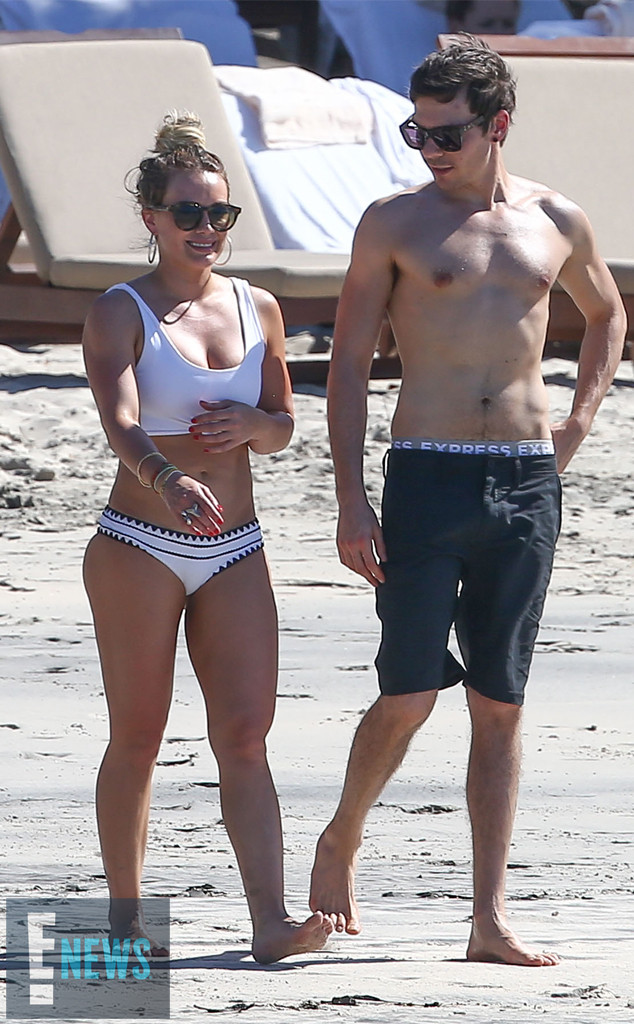 Life S A Beach How Hilary Duff Makes Vacation A Full Time