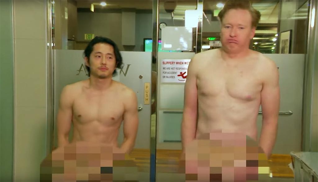 Steven Yeun, Conan OBrien, Spa